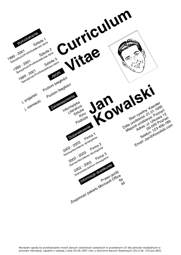 Cv Po Angielsku Grafik Komputerowy